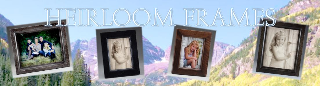 Heirloom and Antique Style Wood Picture Frames