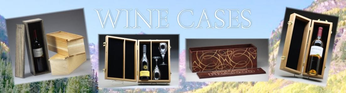 Colorado Heirloom Wood Wine Cases and Wine Boxes
