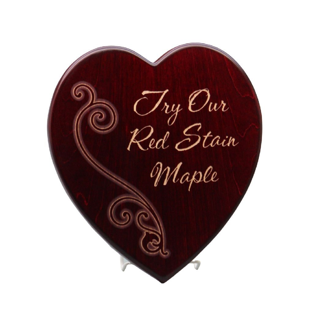 Small Heart Plaque